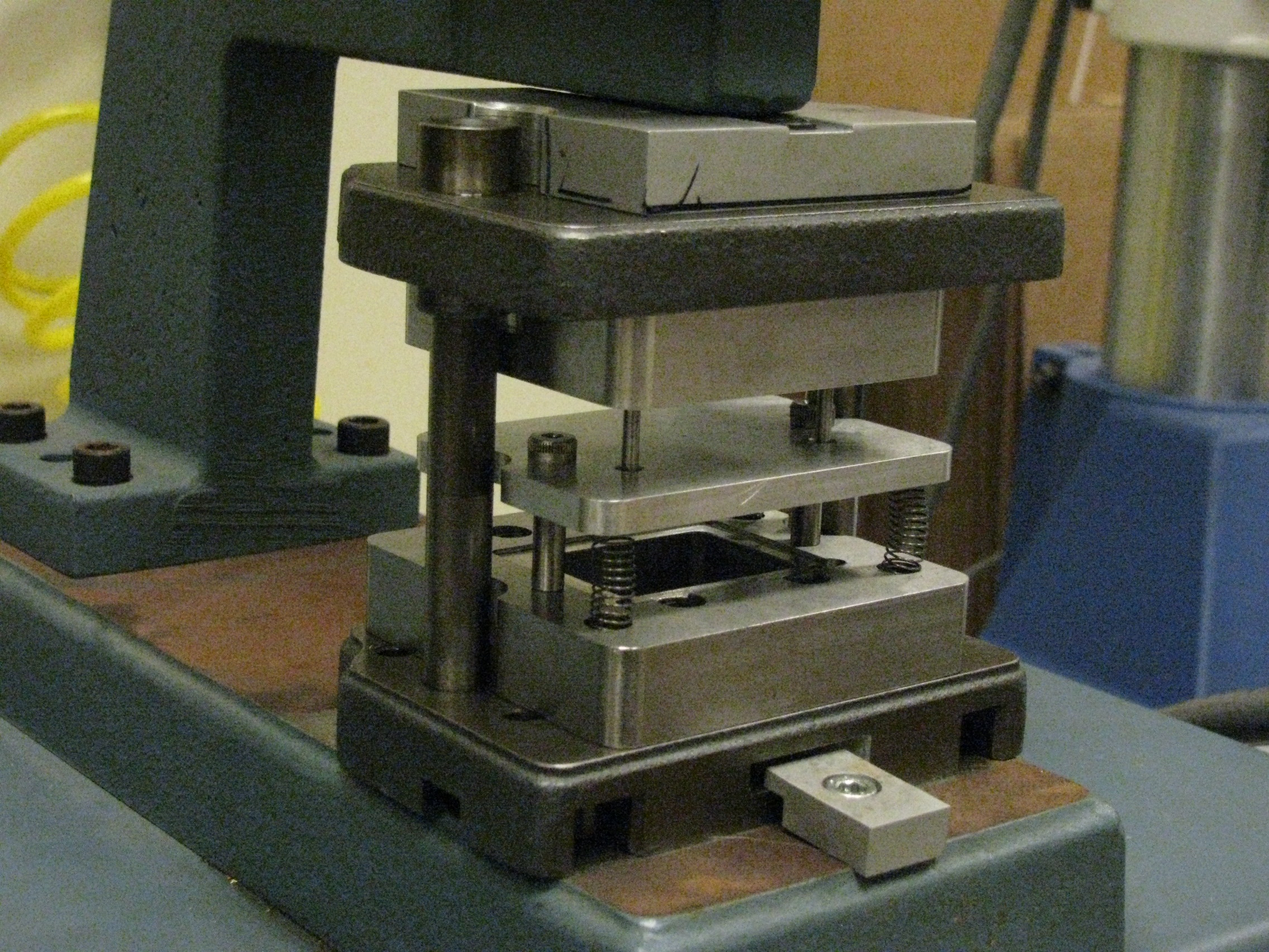 Precision Punch Press Project Example